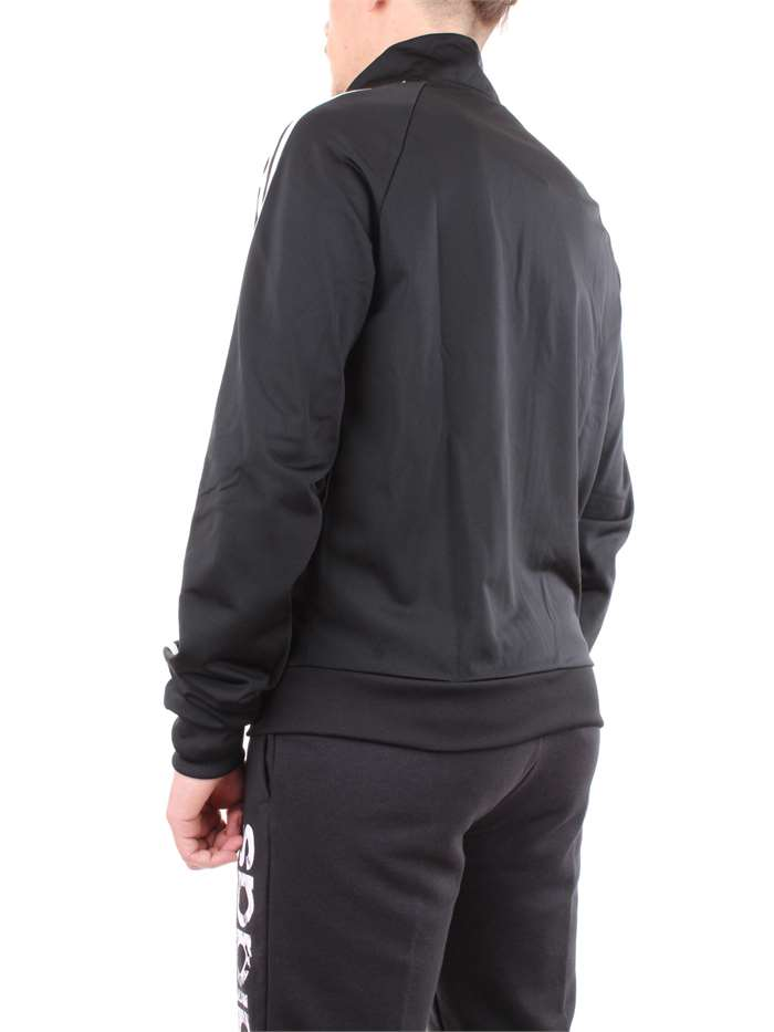ADIDAS Clothing Sweat Black BR1024-ESS-3S-TRACK-JACKET