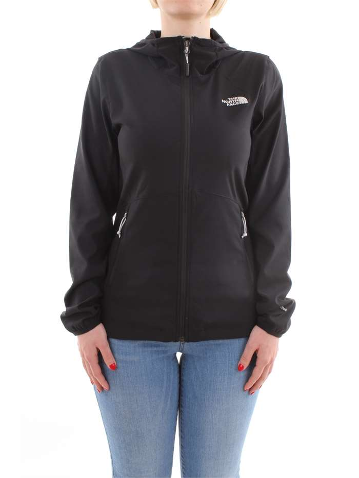 The North Face Clothing Sweat JK3-black T92TYI-W-NIMBLE-HOODIE