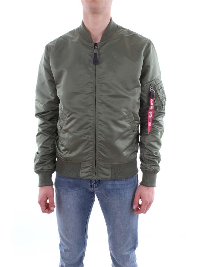 Alpha Industries Clothing Jacket 01-green military 186103-MA-1-VF-LW-USAF