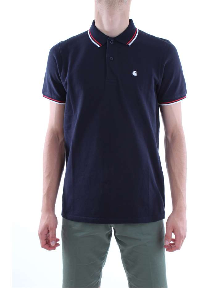 Carhartt Clothing Polo 1c-90-blue-night I024484-S-S-VENICE-POLO
