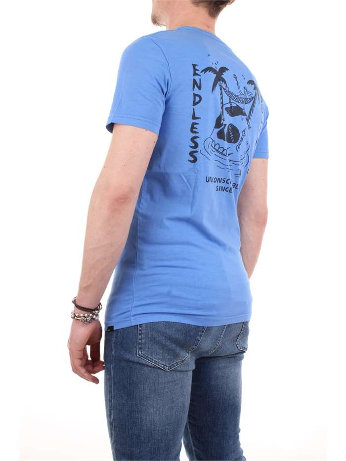 Globe Clothing T shirt Blue GB01720011-BLISS-TEE