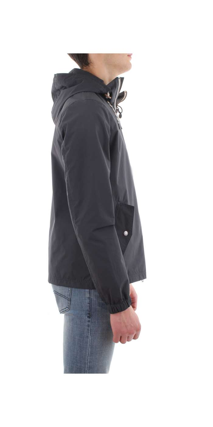 Penn-Rich Woolrich Clothing Jacket 300-dark-navy WYCPS0490-TA05-TASLAN-HOODIE