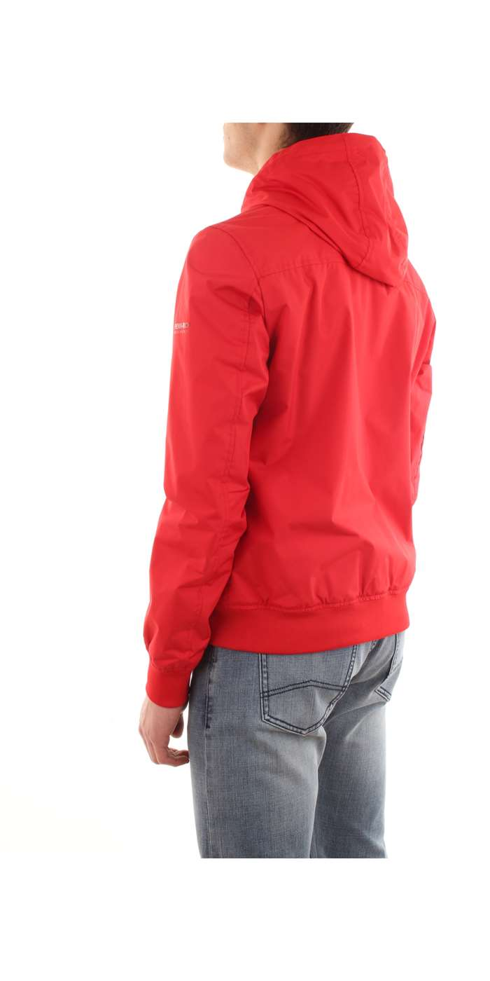 Penn-Rich Woolrich Clothing Jacket 5361-sunset-red WYCPS0494-YC05-RYKER-HOODIE