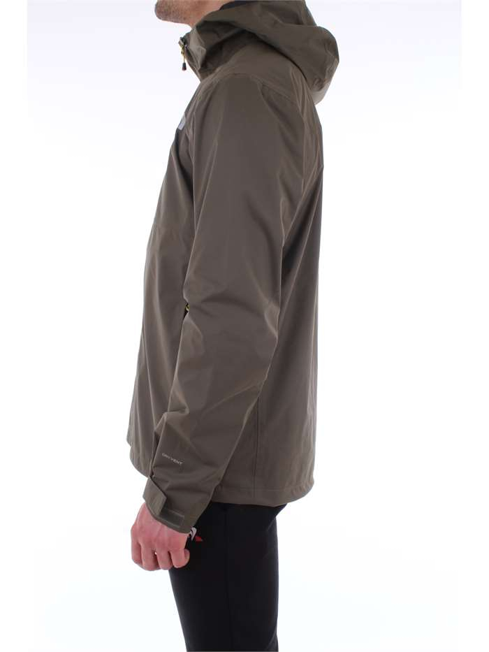 The North Face Clothing Jacket Hcj-olive-green T93BU1-M-EXTENT-II-SHL