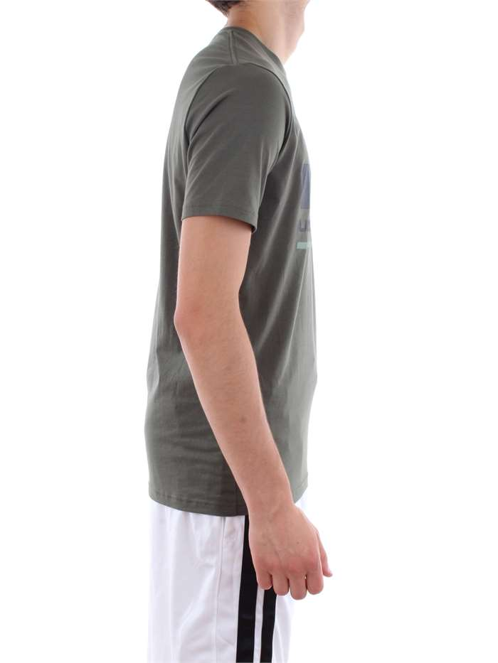 Under Armour Clothing T shirt 330-Green 1305667-BLOCKED-SPORTSTYLE-LOGO