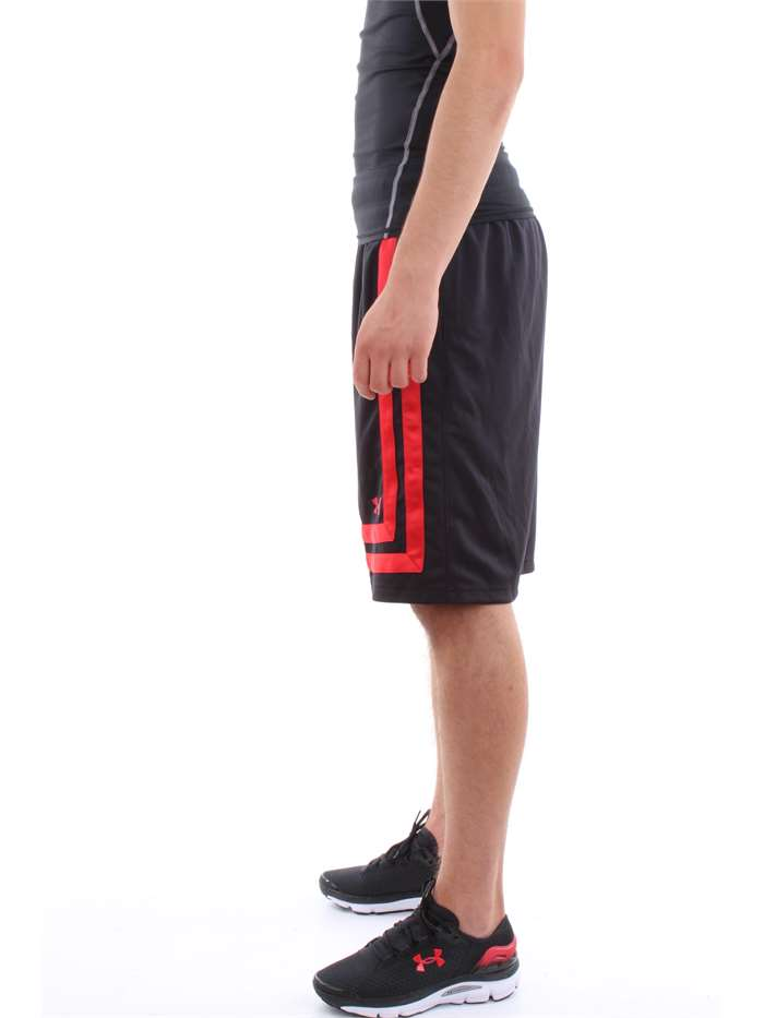 Shorts Under Armour Uomo - 002-nero-rosso - Vendita Shorts On line ... a1a13cfef5da